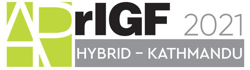 APrIGF 2021 - Hybrid Kathmandu Logo