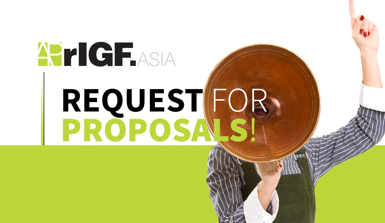 APrIGF Request for Proposals