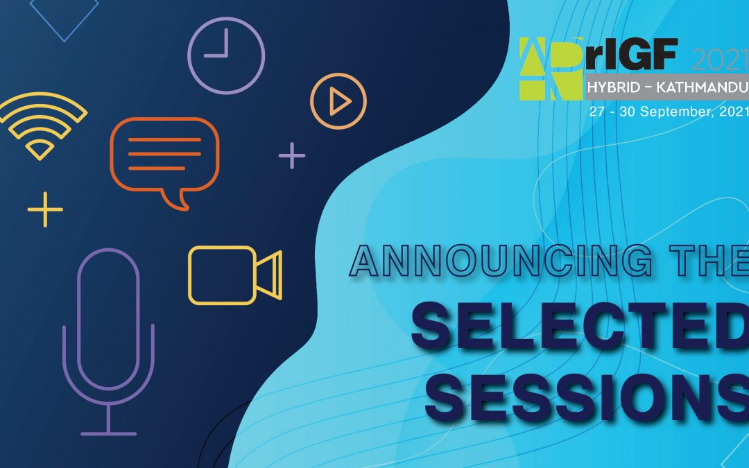 2021 List of Accepted Sessions