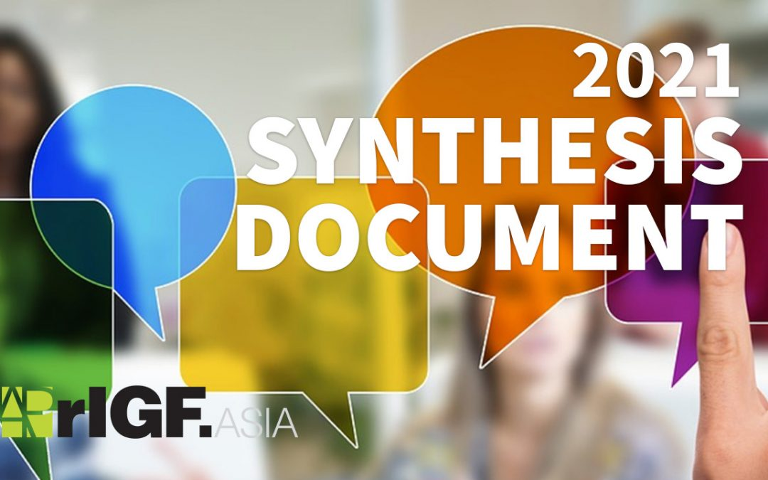 APrIGF 2021 Synthesis Document